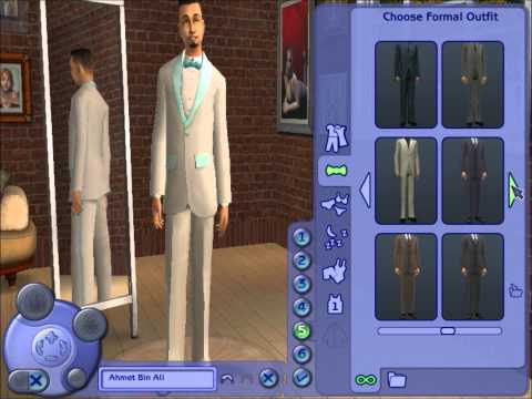 The Sims 2 How to create a malay man Travel Video