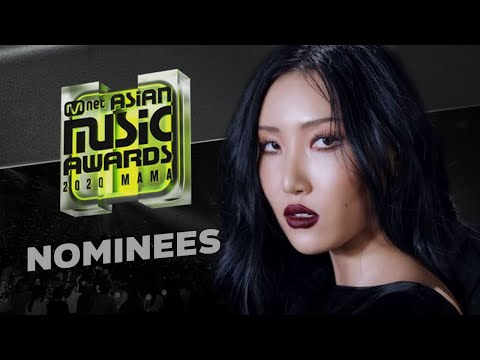 Mnet Asian Music Awards 2020 | Nominees
