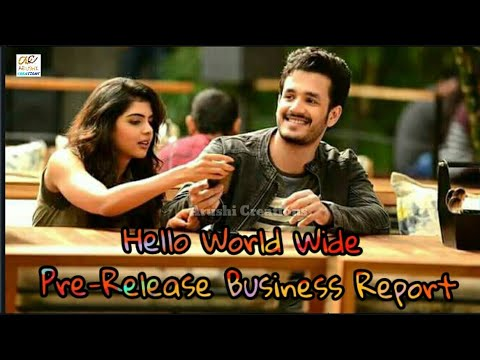 Akhil Akkineni HELLO! Movie World Wide Pre-Release Business Report