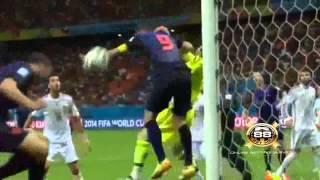 Spanyol vs Belanda 1 - 5