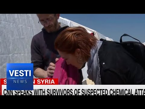 """CNN Fake News Correspondent Sniffs """"Chlorine-Sprayed"""" Backpack, Decides It's a Chemical Weapon"""
