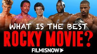 ALL EIGHT ROCKY MOVIES RANKED inc. CREED II