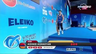 Тяжелая атлетика. Чемпионат Европы 2015 г. Мужчины до 85 кг.