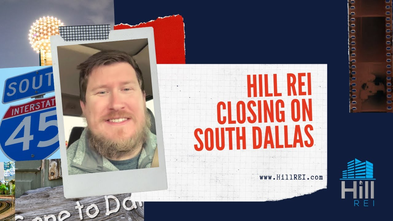 Hill REI closed on South Dallas Deal | Hill REI