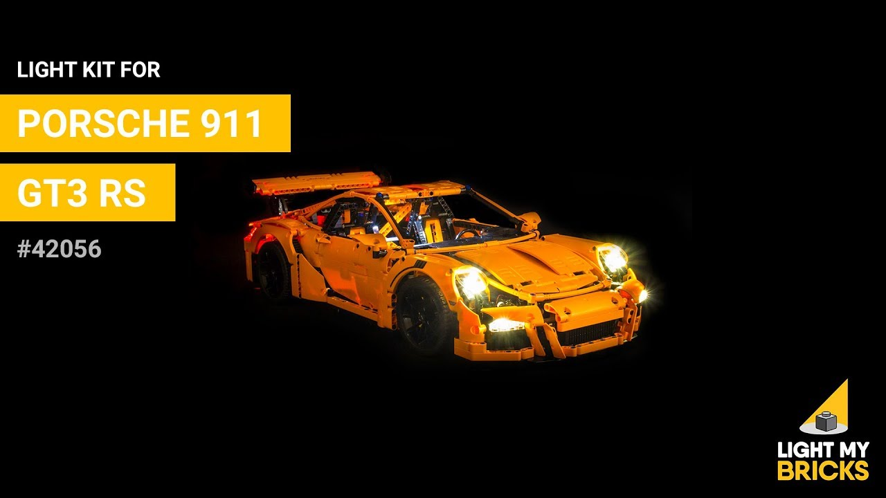 Light 42056 Handcraft Brick Group LED Licht Kit f/ür Lego Porsche 911 GT3 RS