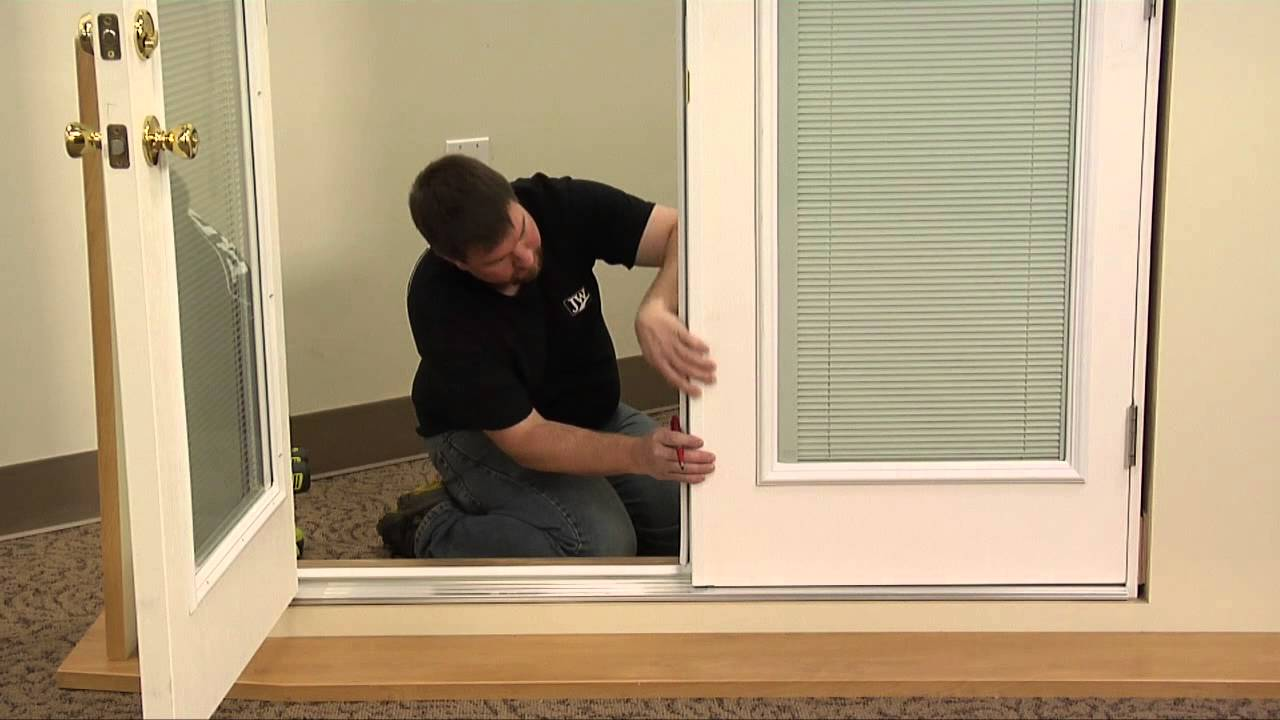 how to align outswing door shoot bolts