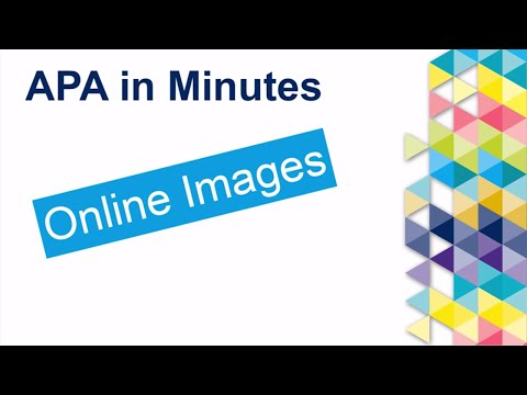 APA in Minutes: Online Images