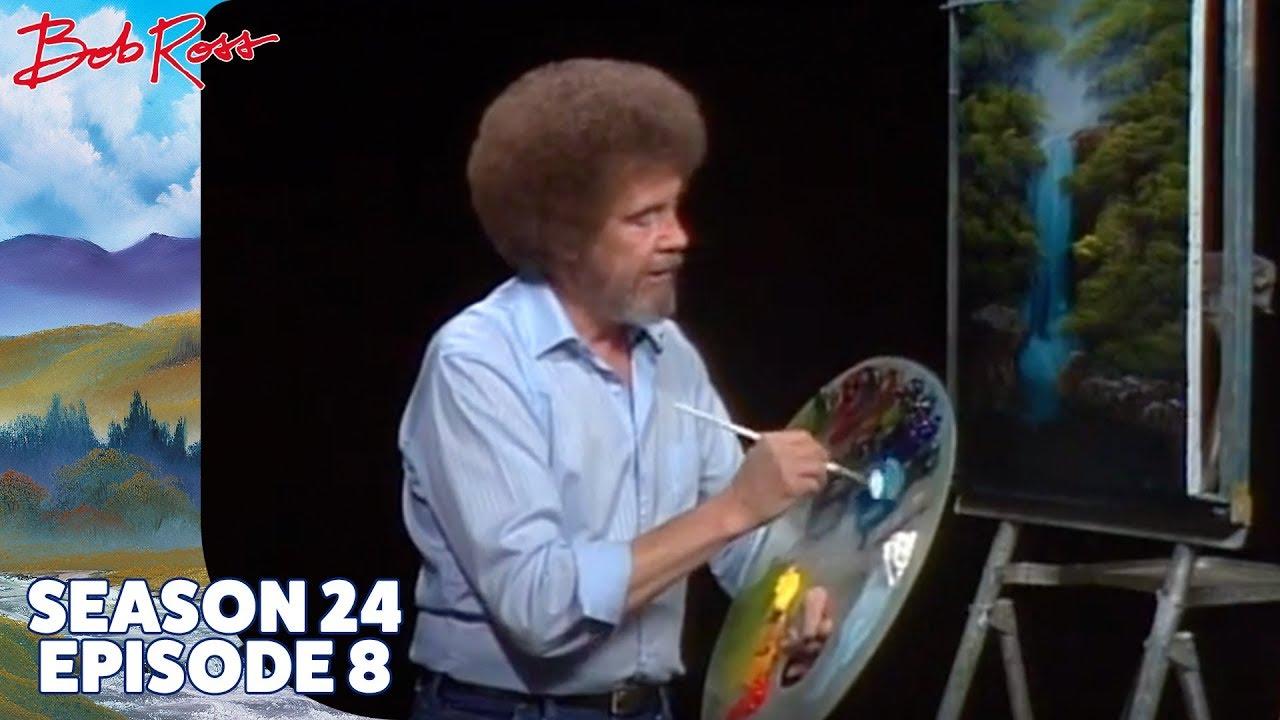 Download Bob Ross - Graceful Waterfall (Season 24 Episode 8)