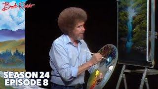 Bob Ross - Graceful Waterfall (Season 24 Episode 8)