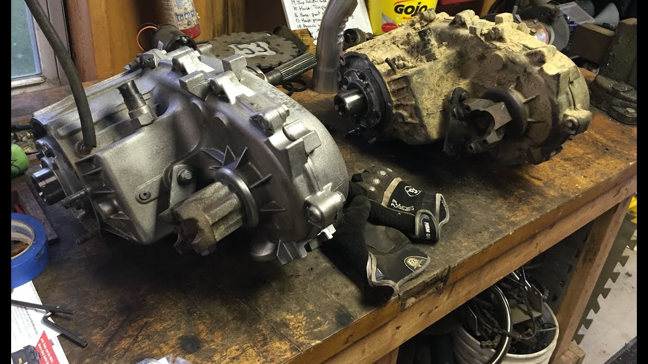 hight resolution of disassembly of 94 np249 transfercase part 1 np249 to np242 swap