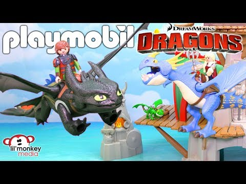 🐉 Playmobil Dreamworks Dragons Collection!  Hiccup, Toothless, Isle Of Berk, Drago And More! 🔥