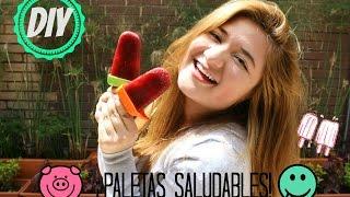¡PALETAS DE LOCURA! (SALUDABLES) Thumbnail