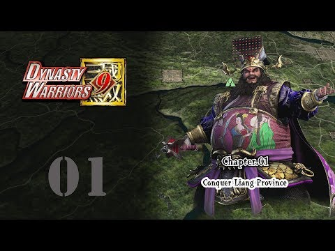 Dynasty Warriors 9 - Dong Zhuo's Story 01 (included all Main Missions)