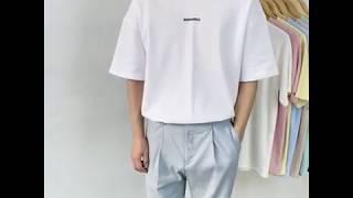 로맨틱 나염 반팔 티셔츠