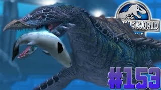 NEW AQUATIC HYBRID UNLEASHED!!!-Jurassic World:The Game Ep. #153