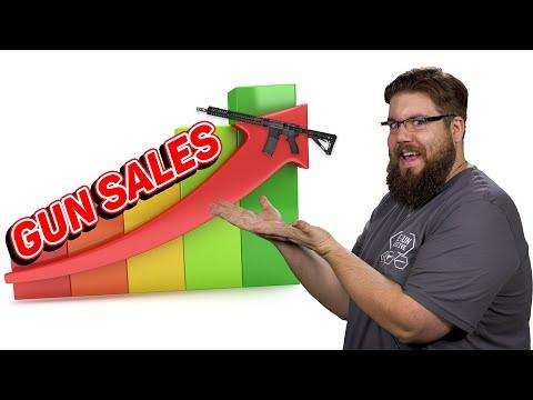 Gun Sales SKYROCKET!
