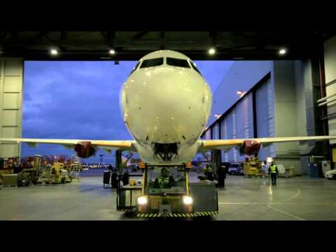 The making of Air Canada Rouge's brand new A321