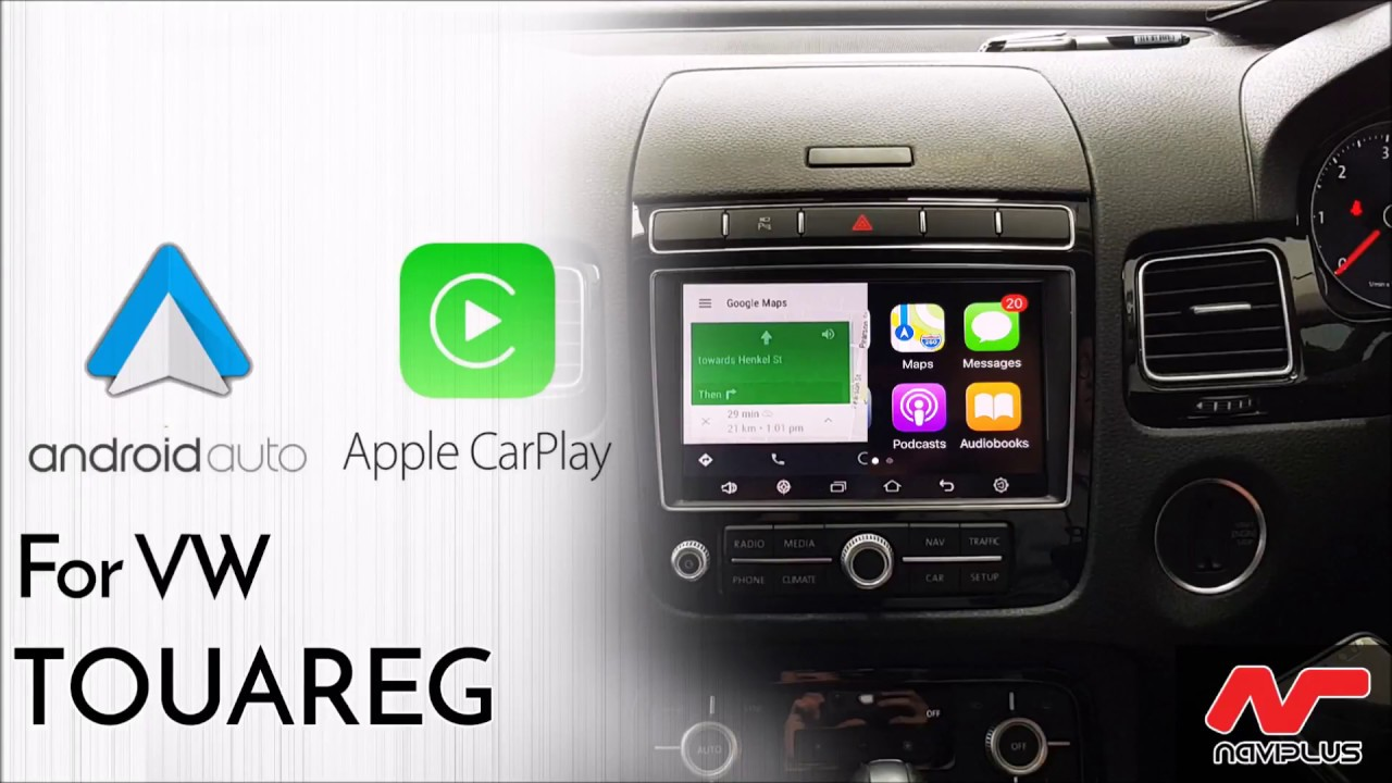 Volkswagen Touareg 2015 7P - Android Auto and Apple CarPlay retrofitted