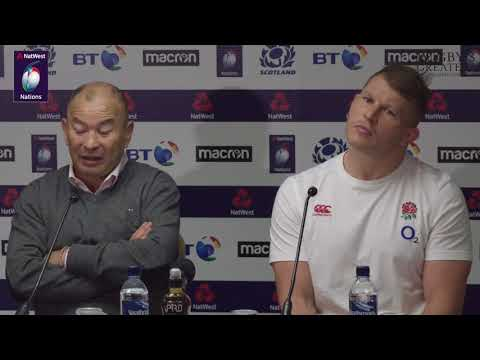 Eddie Jones and Dylan Hartley press conference after Scotland defeat | NatWest 6 Nations