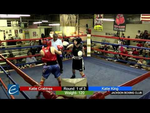 Jackson, Tn Boxing 26MAR2016 K Crabtree vs K King
