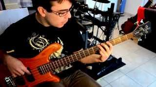 Symphony X - Communion And The Oracle (Bass Playthrough)