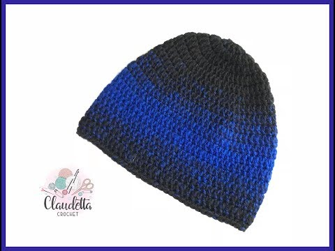 Einfache Mütze Häkeln Beanie Häkeln Für Anfänger Claudetta