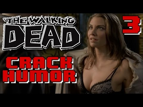 The Walking Dead Funny Moments Crack Humor PT.3