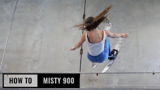 How To Misty 900 On Skis