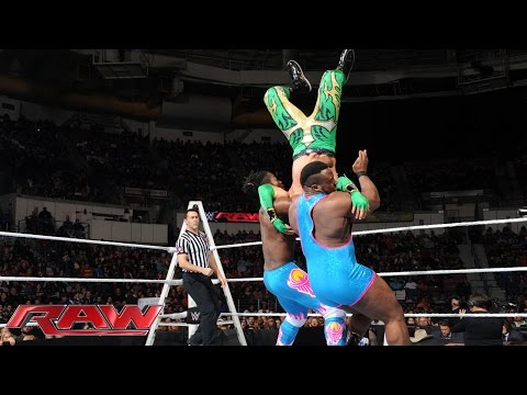 The Lucha Dragons Vs. The New Day: Raw – 7. Dezember 2015