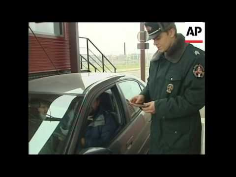 TALKING POINT Guards moved to Russian border to combat trafficking