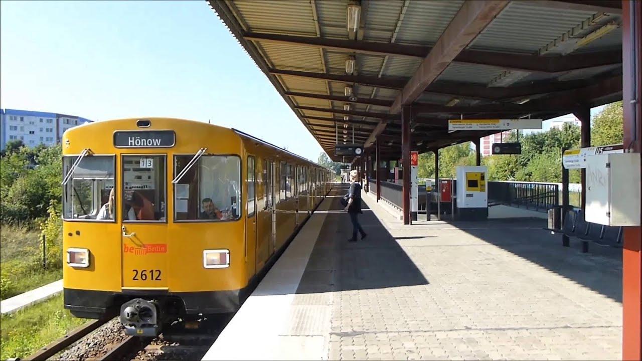 U5 Cottbusser Platz (U-Bahn Berlin) - YouTube