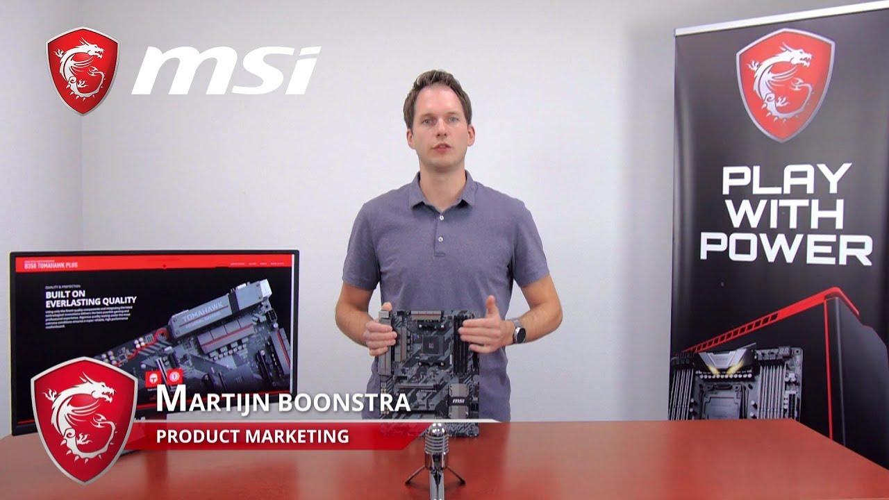 B350 TOMAHAWK PLUS Feature Video | Gaming Motherboard | MSI