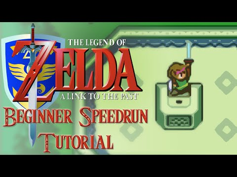 Link to the Past Beginner Speedrun Tutorial - Any%, No Major Glitches (NMG)