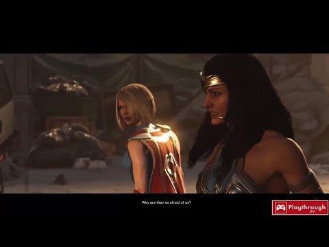 WONDER WOMAN Story in Injustice Video Game Series