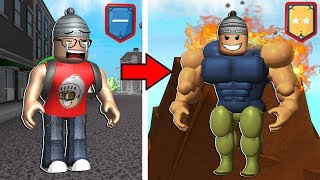 100 million POWER and TRAINING IN LAVA 💥-Roblox Super Power Training Simulator