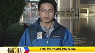 Pampanga River reaches critical level
