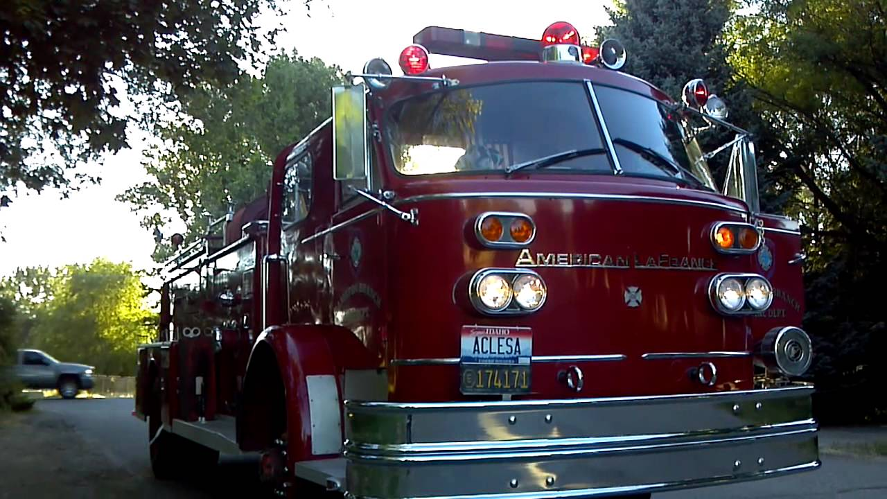 american lafrance fire truck for sale in boise 2 youtube. Black Bedroom Furniture Sets. Home Design Ideas
