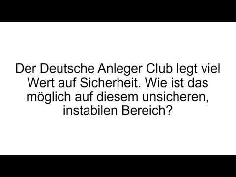 Deutscher Anleger Club Erfahrungen