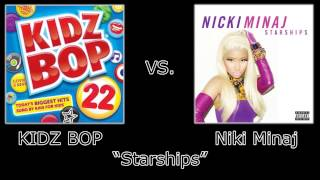 "KIDZ BOP Vs. Niki Minaj - ""Starships"""