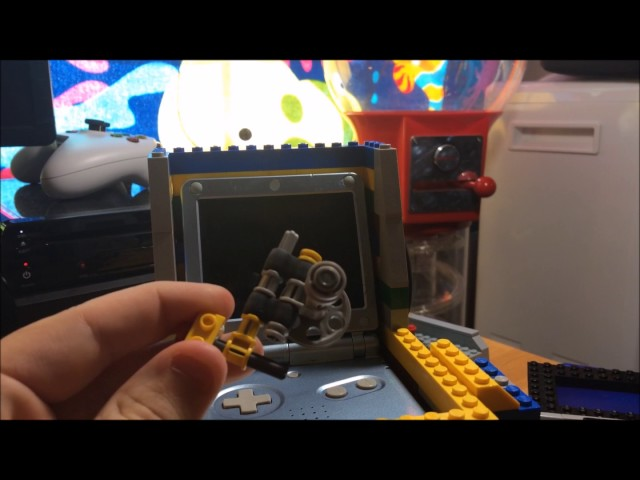 Old Lego coin operated arcade machine
