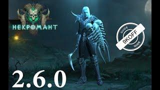 Diablo 3: некромант петовод-владыка нежити в сете Кости Ратмы