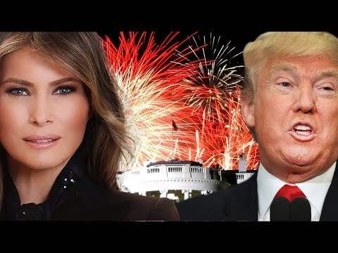 MUST WATCH: President Donald Trump 4th July Independence Day Speech With Melania Trump, Fireworks