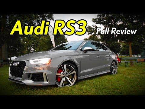 2018 Audi RS3 Sedan: Full Review
