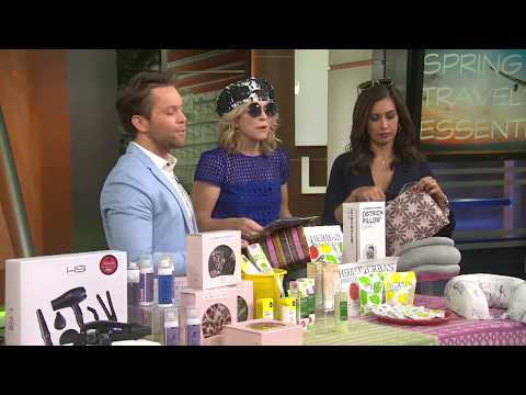 Spring break travel must haves with Robby La Riviere