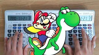 슈퍼마리오 월드 계산기 연주 (Super Mario World OST - Calculator Cover)