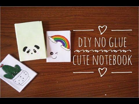 DIY No Glue Cute Notebook||Indian Youtuber|| |Sharvari Patil|
