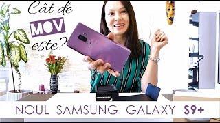 UNBOXING & REVIEW Samsung Galaxy S9+ Lilac Purple si boxa Scoop | de la Orange