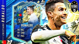 BEST STRIKER IN FIFA 20?! 99 TEAM OF THE SEASON CRISTIANO RONALDO REVIEW!! FIFA 20 Ultimate Team