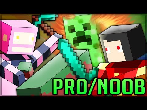 COMEBACK OF THE CENTURY - Pro And Noob VS Minecraft! (Special) #minecraft