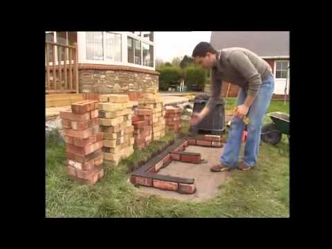 How To Build A Brick Bbq Youtube